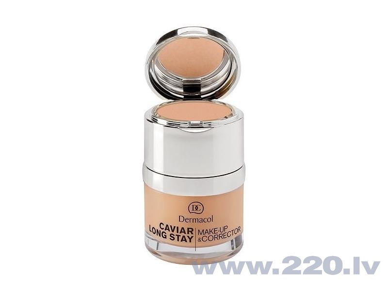 Grima pamats Dermacol Caviar Long Stay Make-Up & Corrector 3 30 ml