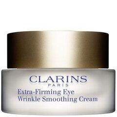 Acu pretgrumbu krēms Clarins Extra Firming Eye Wrinkle Smoothing Cream 15 ml