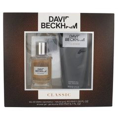 Komplekts David Beckham Classic: EDT 40 ml + dušas želeja 200 ml