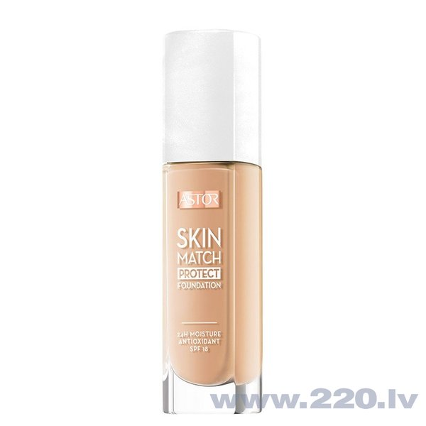 Grima pamats Astor Skin Match Protect Foundation SPF18 30 ml