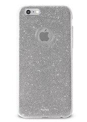 Glitter Shine maciņš priekš Apple iPhone 6/6s Sudrabains