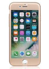 360° apvalks MP-8805 ar ekrāna aizsargplēvi priekš Apple iPhone 7 Zeltains