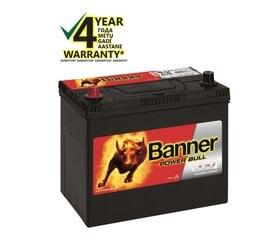 BANNER Power Bull 45Ah 360A (+/-) cena un informācija | BANNER Power Bull 45Ah 360A (+/-) | 220.lv
