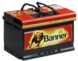 BANNER Power Bull 70Ah 570A (+/-)