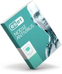 ESET NOD32 Antivirus 11, 2 PC, Jauna licence 12 mēnešiem vai licences atjaunošana uz 18 mēnešiem.