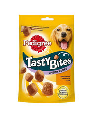Pedigree skanėstai Tasty Bites Chewy Cubes, 130 g cena un informācija | Pedigree skanėstai Tasty Bites Chewy Cubes, 130 g | 220.lv