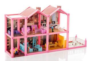 Дом для кукол с мебелью, 136 частей