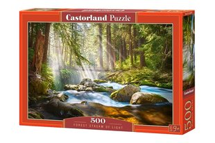 Puzle Castorland Forest Stream of Light, 500 det.