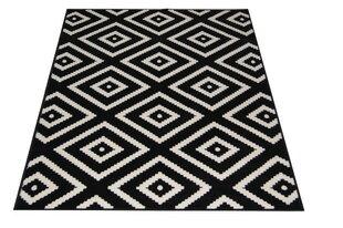 Paklājs MODERN Black, 140 x 200 cm cena un informācija | Paklāji | 220.lv