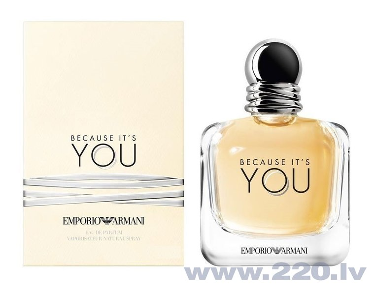Parfimērijas ūdens Giorgio Armani You Because It`s You edp 30 ml cena