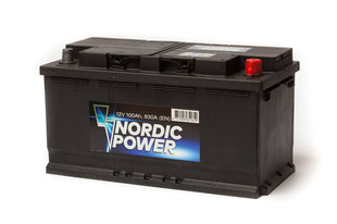 Nordic Power 100 Ah 830A 12V