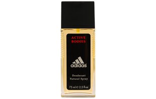 Pūšamais dezodorants Adidas Active Bodies 75 ml