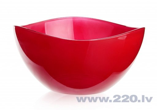 Glasmark salātu trauks Red, 21 cm