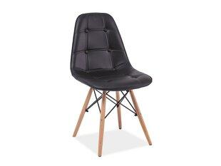 2 krēslu komplekts Axel, melns