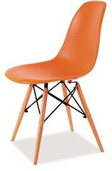 4 krēslu komplekts Enzo, oranža