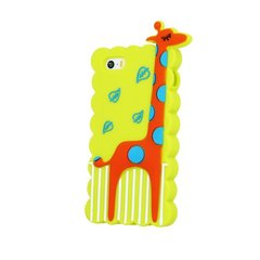 Mocco 3D Silikone Back Case For Mobile Phone Giraffe For Huawei P8 Lite Green