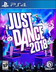 Just Dance 2018. PS4