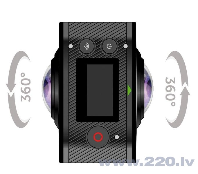 GoXtreme Full Dome 360° 20134, черная отзыв
