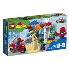 10876 LEGO® DUPLO Zirnekļcilvēka un Halka piedzīvojumi