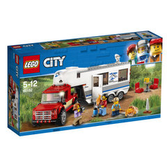 60182 LEGO® City Great Vehicles Pickup & Caravan Māja uz riteņiem