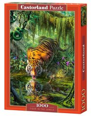 Пазл Puzzle Castorland Tiger in the Jungle, 1000 дет.