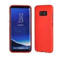 Mercury Soft Feeling Matte 0.3 mm maciņš priekš Huawei P10 Lite Sarkans (EU Blister) cena un informācija | Mercury Soft Feeling Matte 0.3 mm maciņš priekš Huawei P10 Lite Sarkans (EU Blister) | 220.lv
