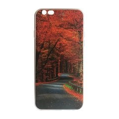 Mocco Trendy Autumn Road Silicone Back Case for Samsung G930 Galaxy S7