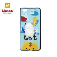 Mocco 4D Silikone Back Case For Mobile Phone With Yellow Mice For Huawei P9 Lite