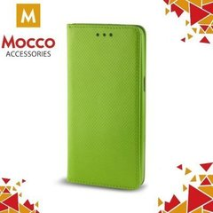 Mocco Smart Magnet Book Case For Samsung A320 Galaxy A3 (2017) Green
