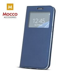 Mocco Smart Look Magnet Book Case With Window For Samsung A310 Galaxy A3 (2016) Blue