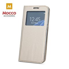 Mocco Smart Look Magnet Book Case With Window For Samsung J710 Galaxy J7 (2016) Gold