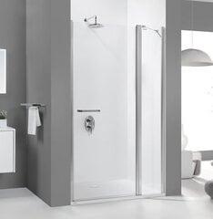 Душевая дверь в нишу Sanplast Pristige III DJ2/PR III 120s, Профиль - Manhattan цена и информация | Двери и стенки для душа | 220.lv