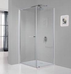 Stūra dušas kabīne Sanplast Prestige III KNDJ/PR III 70x80s, profils- manhatan цена и информация | Простые душевые кабины | 220.lv