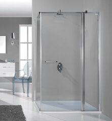 Stūra dušas kabīne Sanplast Prestige III KNDJ2/PR III 80x110s, profils manhatans cena un informācija | Parastās dušas kabīnes | 220.lv