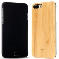 Aizmugurējais apvalks Woodcessories Bamboo eco121 priekš Apple iPhone 7plus, Apple iPhone 8plus
