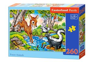 Пазл Castorland Forest Animals, 260 дет.