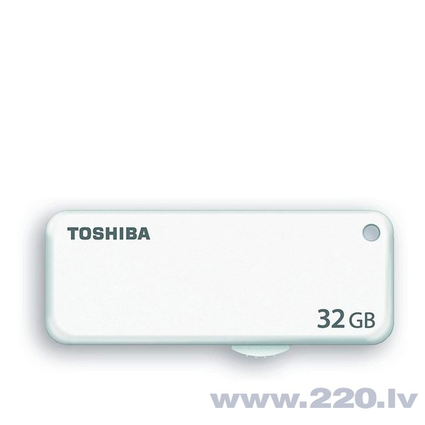 Atmiņas karte Toshiba U203, 32GB USB 2.0, balta cena