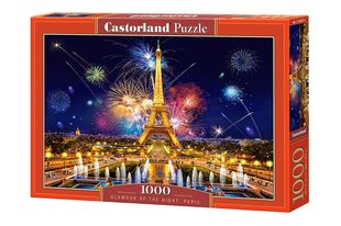 Puzle Puzzle Castorland Glamour of the Night, Paris, 1000 det.