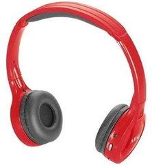 AEG KH 4223 mobilā tālruņa austiņas, brīvroku ierīce, sarkanas