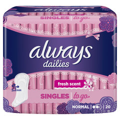 Прокладки Always Dailies to Go Fresh Scent 20 шт.