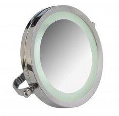 Kosmētikas spogulis ar LED Axentia, Ø 15 cm