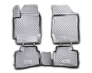 3D KIA Cerato Koup 2009-2013, 4 pcs. /L38033G /gray цена и информация | Модельные резиновые коврики | 220.lv