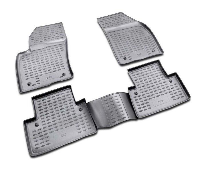 3D VOLVO S40 2004-2012, 4 pcs. /L64003G /gray