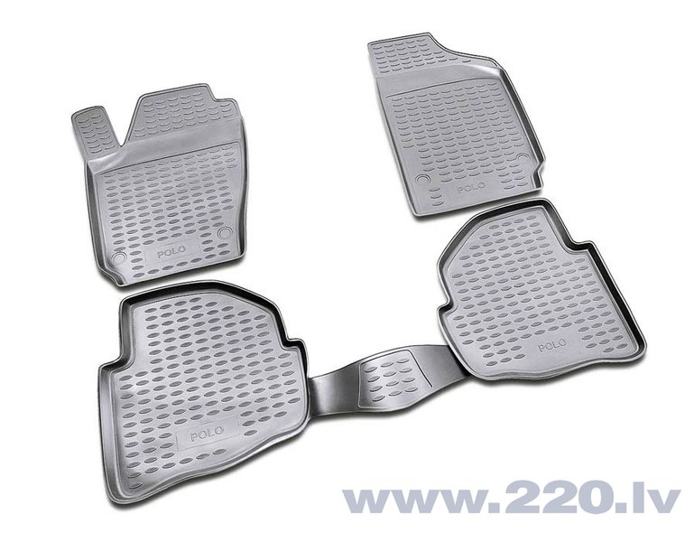 3D VW Polo 2002-2009, 4 pcs. /L65034G /gray