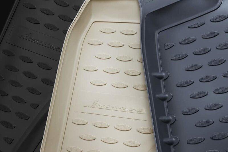 3D TOYOTA RAV4 2010-2012, 4 pcs. /L62089B /beige lētāk