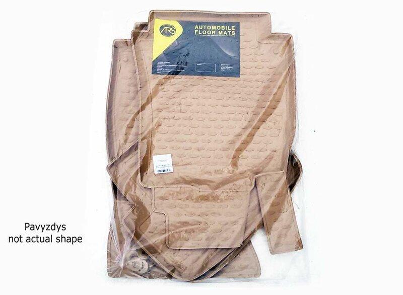 3D SEAT Leon 2005-2012, 4 pcs. /L55004B /beige
