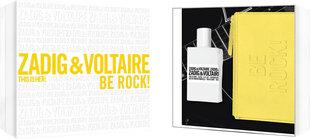 Komplekts Zadig & Voltaire This is Her!: EDP 50 ml + kosmētikas somiņa cena un informācija | Komplekts Zadig & Voltaire This is Her!: EDP 50 ml + kosmētikas somiņa | 220.lv