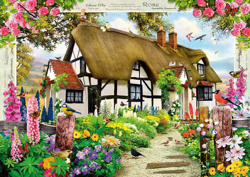 "Пазл Step Puzzle 1000 ""Англиский дом"""