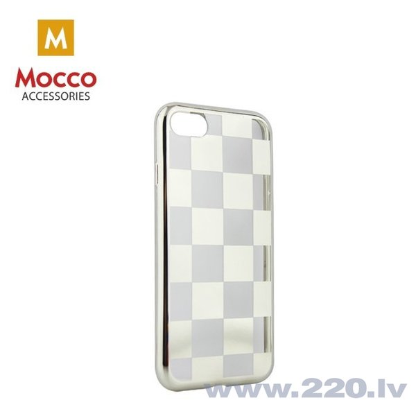 Mocco ElectroPlate Chess Silicone Case for Samsung J530 Galaxy J5 (2017) Silver cena