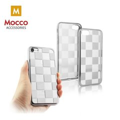 Mocco ElectroPlate Chess Silicone Case for Apple iPhone 7 Plus / 8 Plus Silver